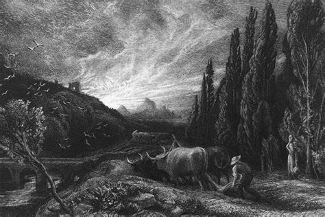 Samuel Palmer Etchings Explored At The London Original