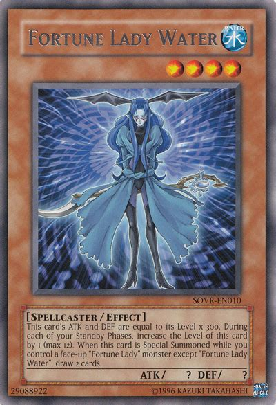 Fortune Lady Water - Yu-Gi-Oh!