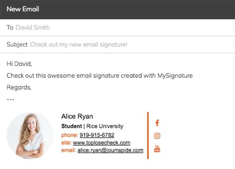 FREE Email Signature Generator for Outlook and Gmail by