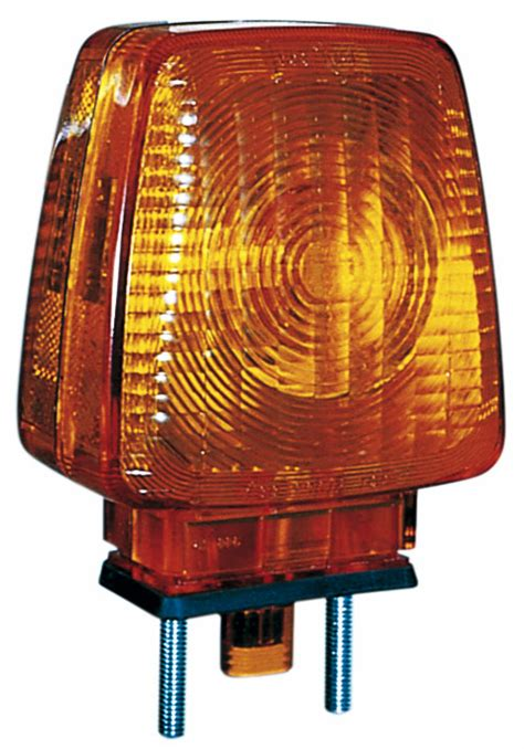 PM 344A Amber Double-Face Turn Signal w/Side Marker