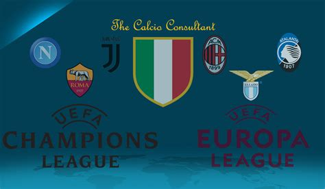 Previewing Italian Sides in Europe 2017/2018 - The Calcio