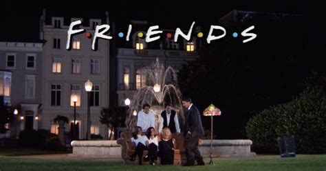 The Fountain In 'Friends' Opening Credits Scene Has Been
