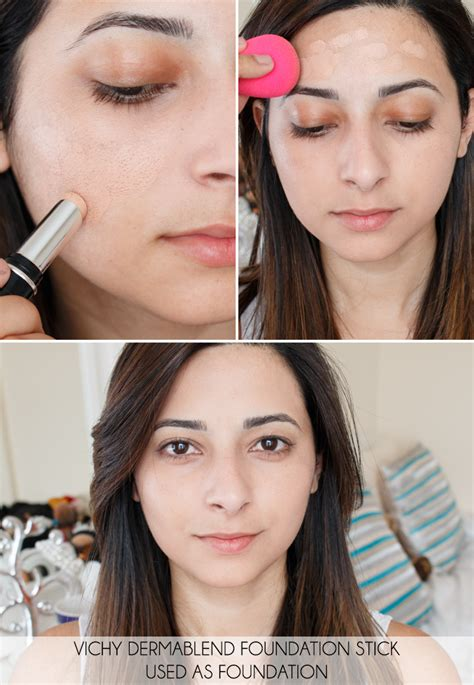 Vichy Dermablend Stick Foundation (Review) - Le Beauty Girl