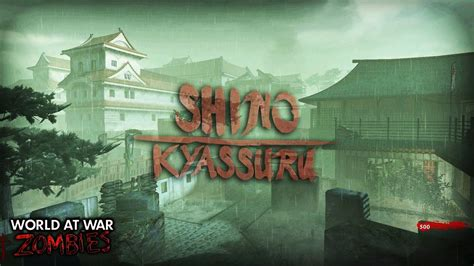 JAPANESE CASTLE! | Call of Duty World at War Custom Zombie