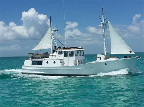 1974 Trawler 50 Fathom Penobscot Pilothouse Power Boat For