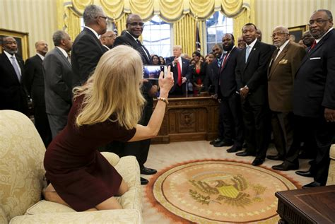 Analysis: Conway picture is small error in Trump's swing