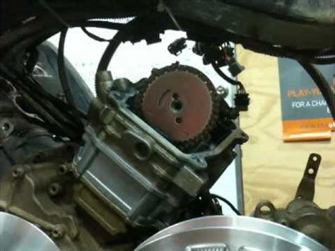 Setting the timing on a Canam Motor - YouTube