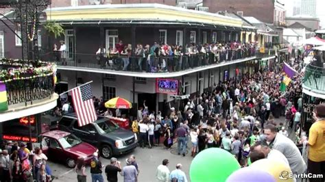Join Mardi Gras In New Orleans with Live Views from EarthCam