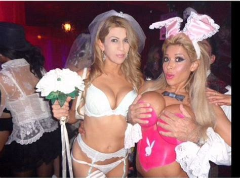 The Best Pics From The 2014 Halloween Party At The Playboy