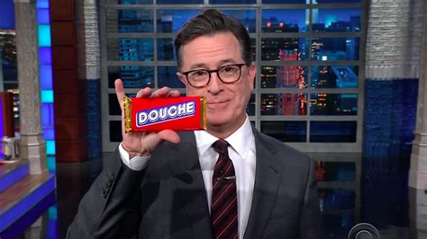 Stephen Colbert Goes In On 'Douche' Donald Trump Jr