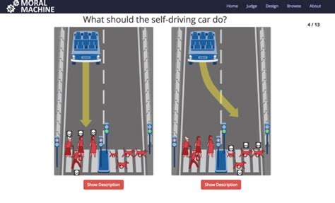 Moral Machine from MIT poses self-driving car thought