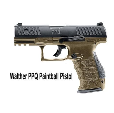 Walther PPQ M2 Paintball Pistol (Tan) – MCS