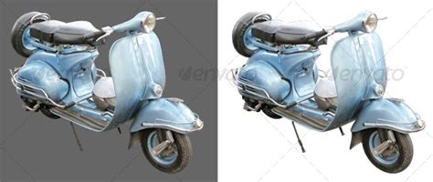 Antique scooter by yio | GraphicRiver