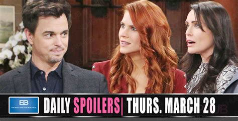 The Bold and the Beautiful Spoilers: Sally Weighs Her Options!