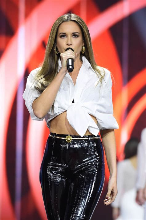 Mandy Grace Capristo Performs at Miss Germany 2018 Event