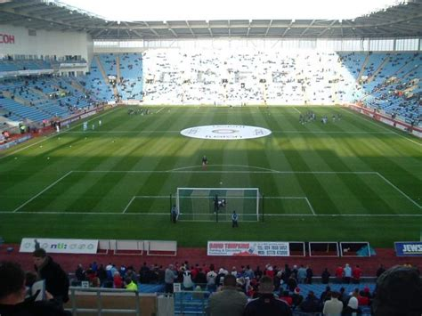 Photos of the Coventry City FC at Ricoh Arena