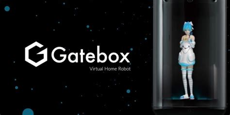 """The holographic anime """"robot"""" that will keep house for"""