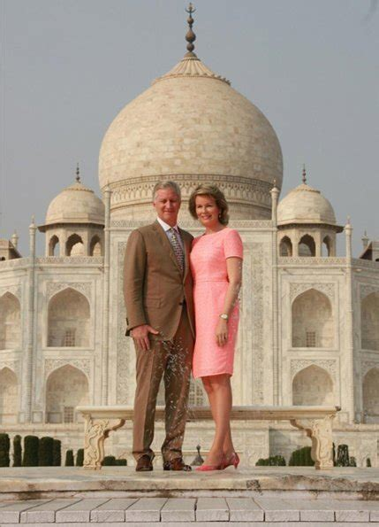 India visit of King Philippe and Queen Mathilde 1st day