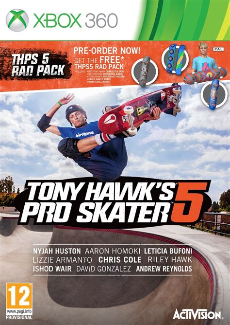 Tony Hawk's Pro Skater 5 For Xbox 360 is GAME Exclusive in