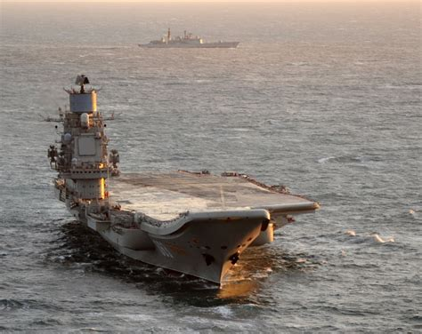 Russia Is Building New Aircraft Carrier, Navy Chief