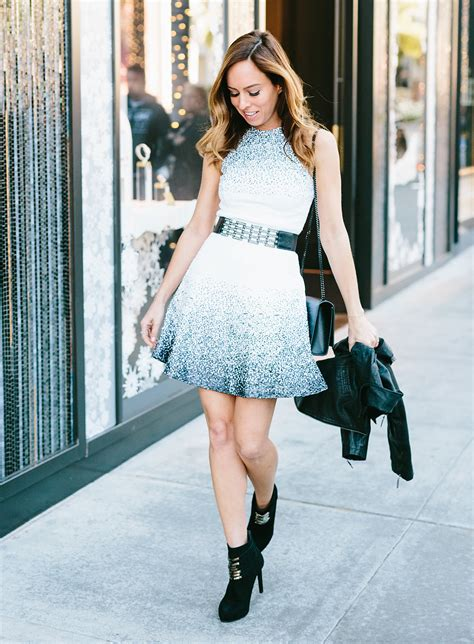 How To Dress Down Sequins for Holiday Party Style