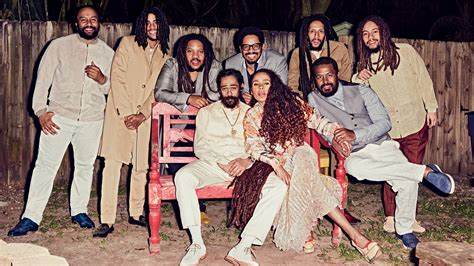 Bob Marley's Family Reunites for Its First Photo Shoot in
