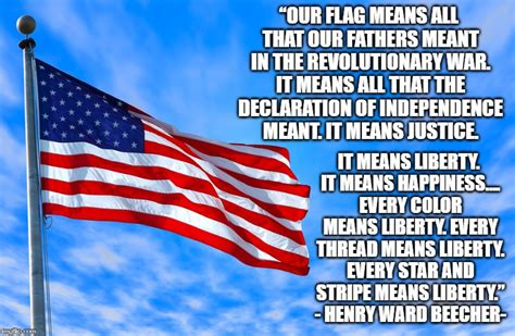 What Is An All Blue American Flag Mean - About Flag