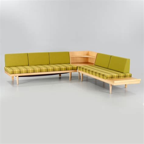 """Two sofas and a coffee table by Ingmar Relling, """"Svane"""