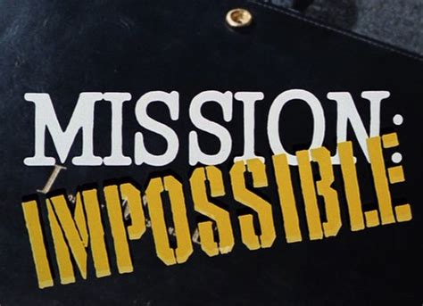 Category:TV Series   Mission Impossible   FANDOM powered