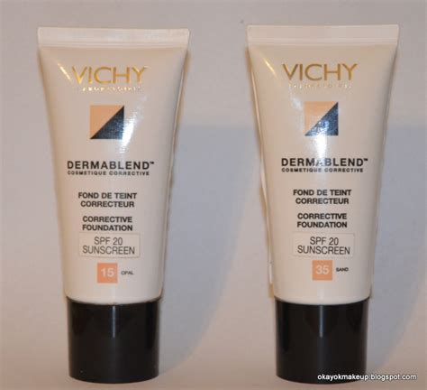 Vichy Dermablend Corrective Foundation Review
