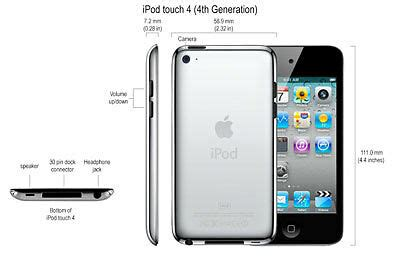 Guide to Identifying Apple iPod touch models | eBay