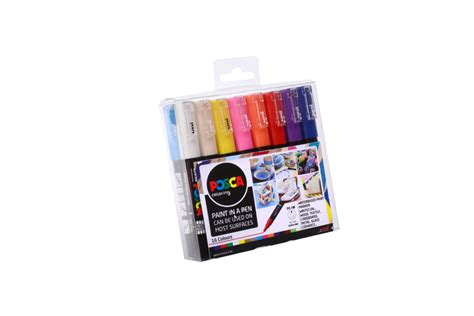 Posca – Tusj Uni POSCA Marker PC-1M Collection – 16 pack