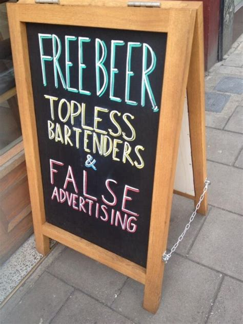 22 Hilarious Bar Signs That Will Definitely Get You In