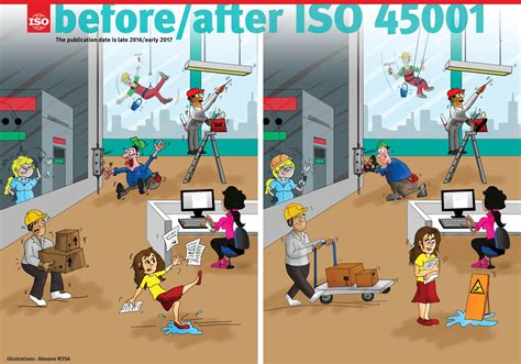ISO - ISO 45001 on occupational health and safety has been