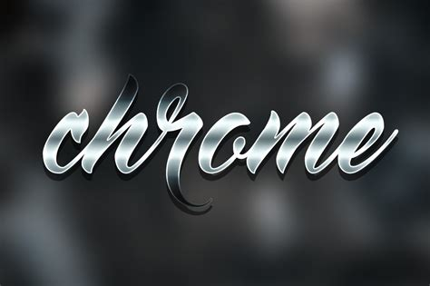 Chrome & Metal Styles for Photoshop ~ Photoshop Add-Ons