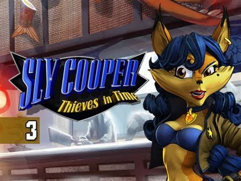 Sly Cooper Thieves in Time Walkthrough - Part 3 El Jefe