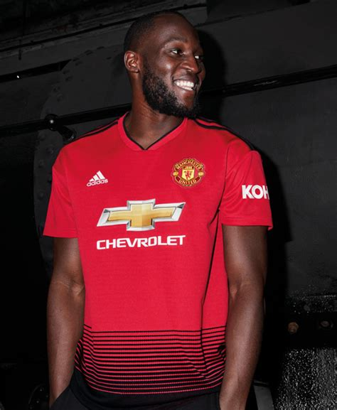 Man Utd Launch New 2018/19 Adidas Home Kit Inspired By