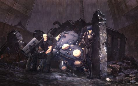 Ghost In The Shell, Batou, Tachikoma Wallpapers HD