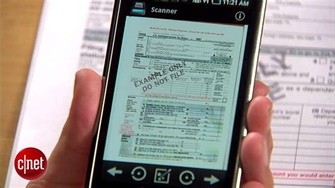 Scan documents with your Android phone - YouTube