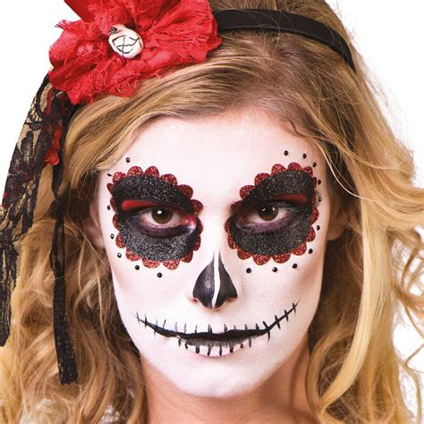 Day of the Dead Makeup Eyes Kit Mexican Dia los Muertos