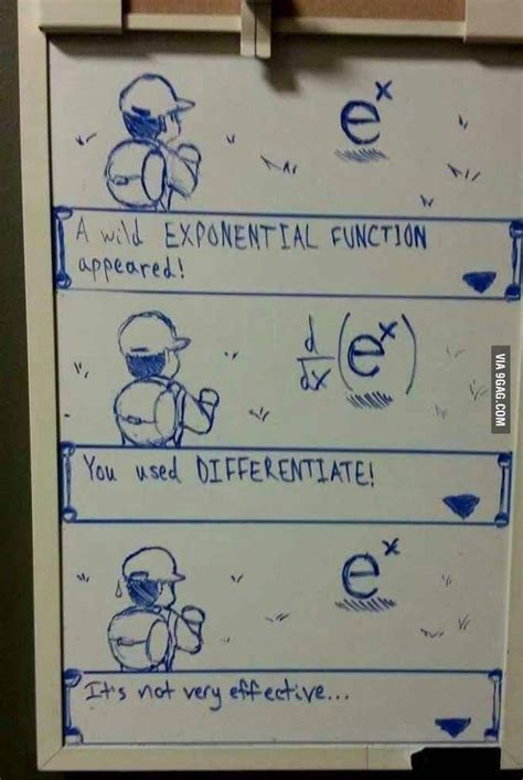 Differentiating e^x Is Not Very Effective According To