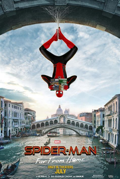 Spider-Man: Far From Home (2019) Poster #3 - Trailer Addict