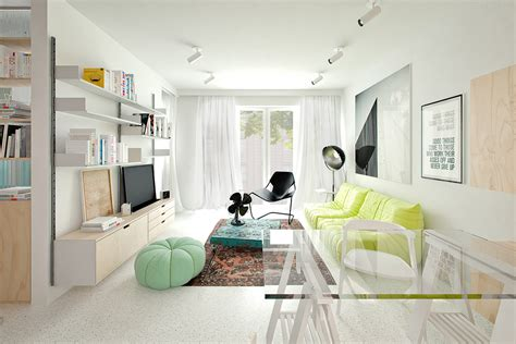 4 Small & Beautiful Apartments Under 50 Square Meters