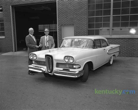 First Ford Edsel sold in Lexington, 1957   Kentucky Photo