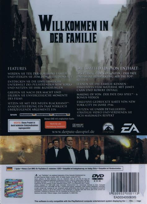 Der Pate - Limited Edition OVP | Action | PS2