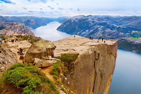 Cruising from Stavanger to Pulpit Rock through Norway's