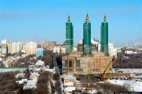 Winter in Ufa – the view from above · Russia Travel Blog