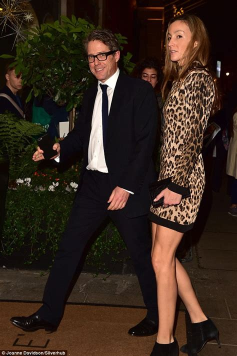 Hugh Grant steps out with Anna Elisabet Eberstein at
