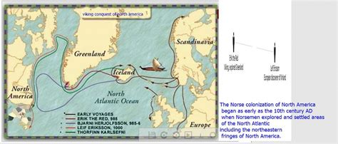 Viking conquest of north america | Leif Ericson reached
