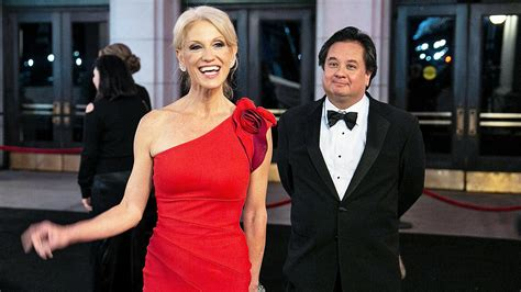 President calls Kellyanne Conway's husband loser from hell